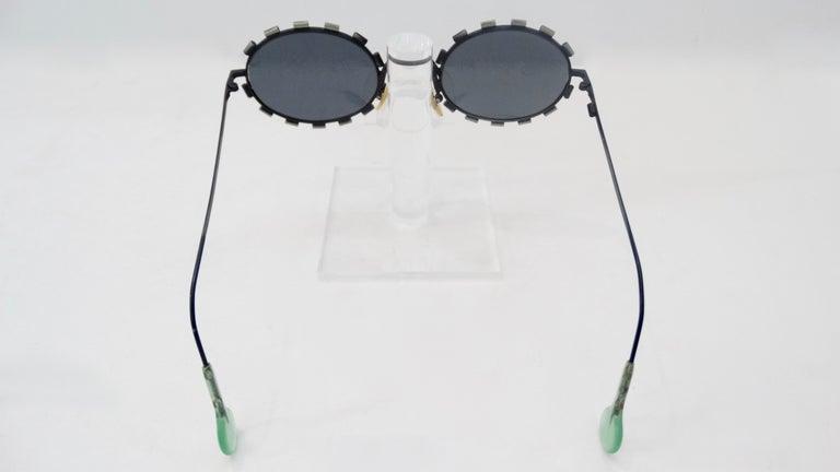 Women's or Men's L.A. Eyeworks 1990s Bondo Sunglasses For Sale