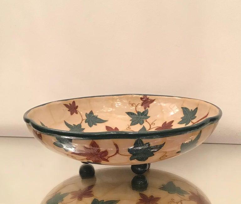 "La Fenice ""Albisola ""Centerpiece Ceramic 1930 Italy  In Excellent Condition For Sale In Milano, IT"