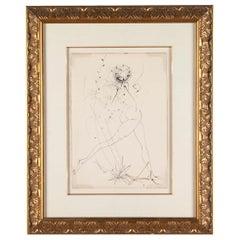 La Fille en Fleur, Salvador Dali
