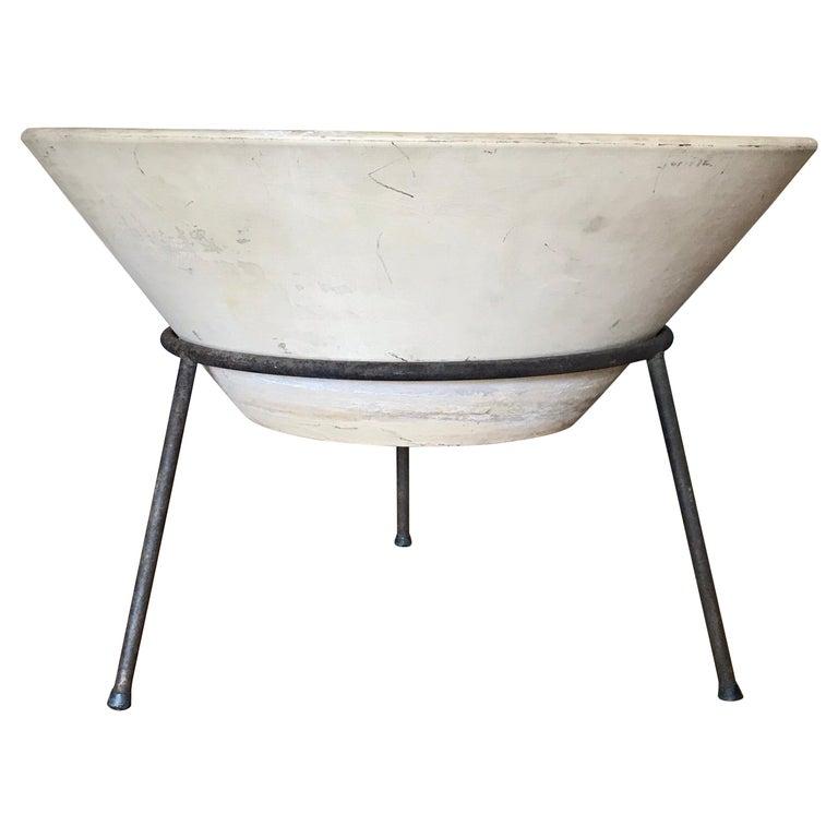La Gardo Tackett Architectural Pottery Planter, 1960's For Sale