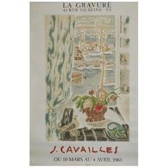 La Gravure J. Cavailles 1963 Poster