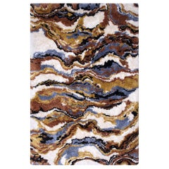 La Land Rug in Hand-Tufted Wool and Bamboo Silk
