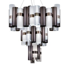 La Lollo Extra Large Black Ceiling Lamp by Lorenza Bozzoli