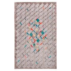 La Lomita carpet, Hand Knotted, 200knots, Wool and Silk, Liliana Ovalle