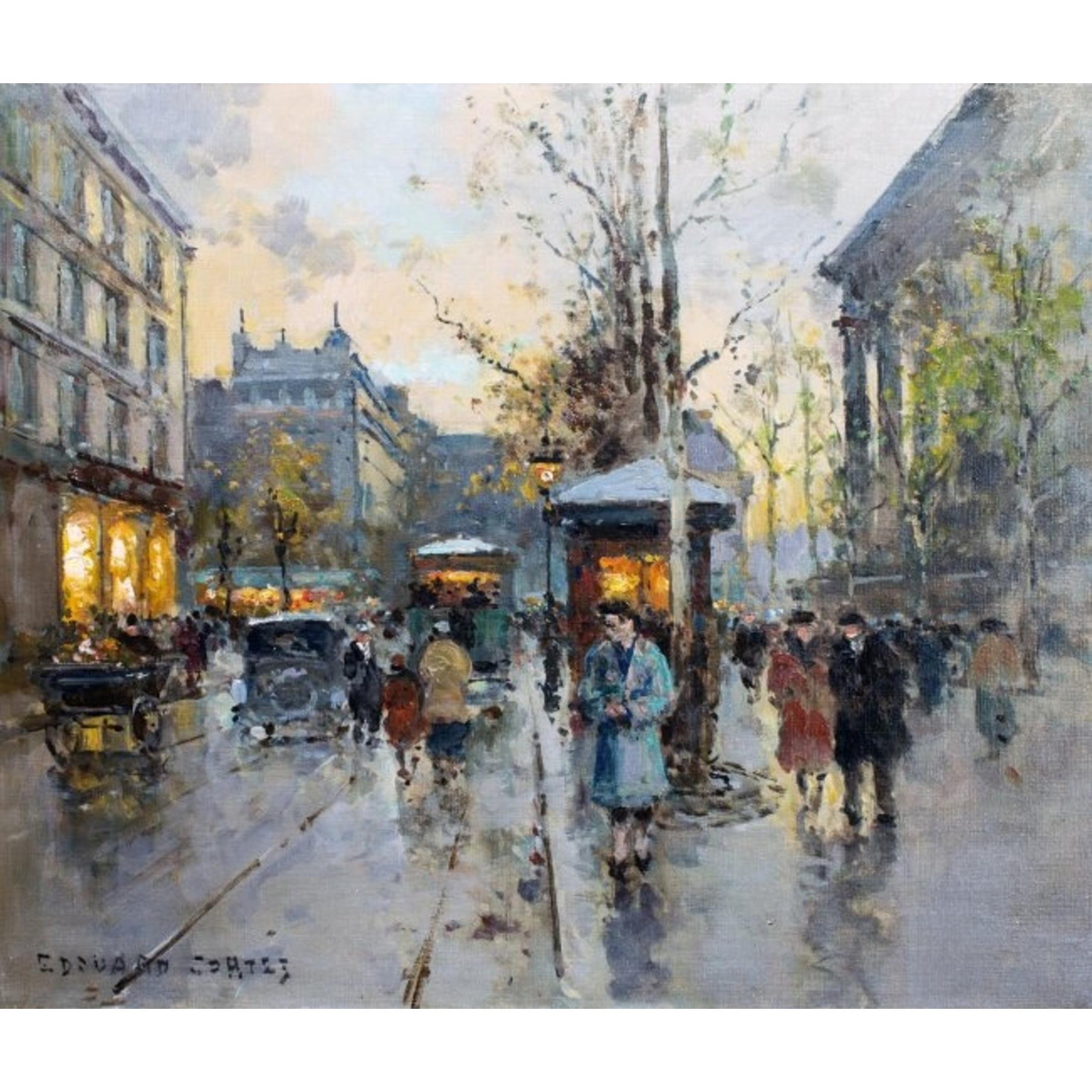 """La Madeleine"" by Edouard Leon Cortes, Signed"
