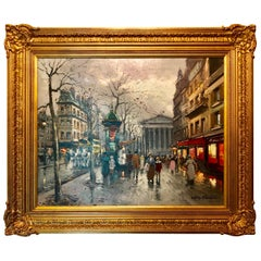"""La Madeline, Paris"" by Antoine Blanchard"