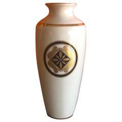 La Maison de L' Art Deco Porcelain Vase by Cartier