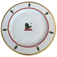 La Maison de Louis Cartier Limoges Charger Large Plates