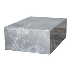 La Matrigna, Scandinavian Design Table in Italian Marble