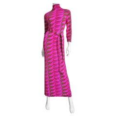 La Mendola 1970s Maxi Dress