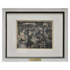 La Moulin de Gallette from the Suite La Vie et L'Oeuvre de Pierre-Auguste Renoir