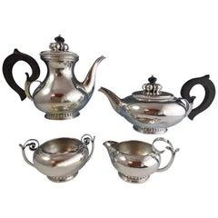 La Paglia by International Sterling Silver Tea Set 4-Piece