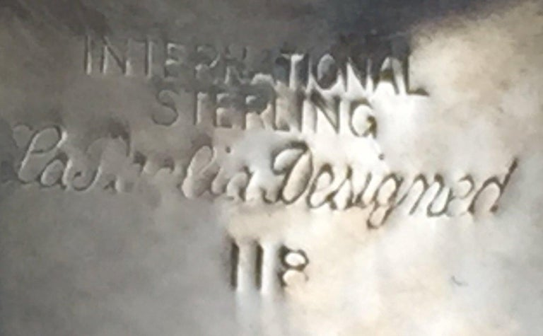 American La Paglia Sterling Silver Demitasse Tea Service by International Sterling For Sale