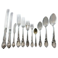 La Parisienne by Reed & Barton Sterling Silver Flatware Service Set 88 Pc Dinner