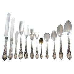 La Parisienne by Reed & Barton Sterling Silver Flatware Service Set 96-Pc Dinner