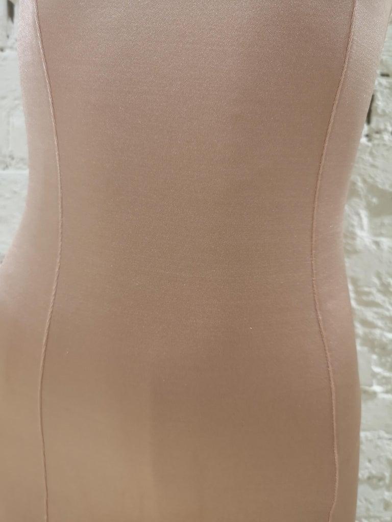 La Perla nude tone dress In Excellent Condition For Sale In Capri, IT