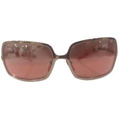 La Perla Red Gold sunglasses