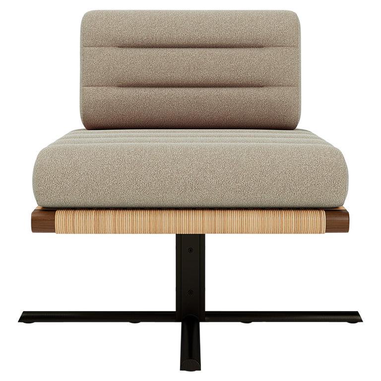 Yabu Pushelberg La Rambla lounge chair, 2021, offered by Man of Parts