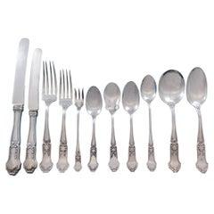 La Rochelle by International Sterling Silver Flatware Set Service 137 pc Dinner