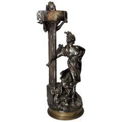 """""""La Route de Cythère"""", a Bronze Sculpture by Joseph Chéret"""