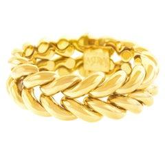 La Serlas Mystery Motif Gold Bracelet