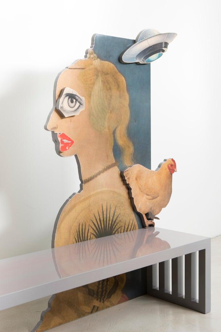 La Strada Bench by Mattia Biagi In New Condition For Sale In Los Angeles, CA
