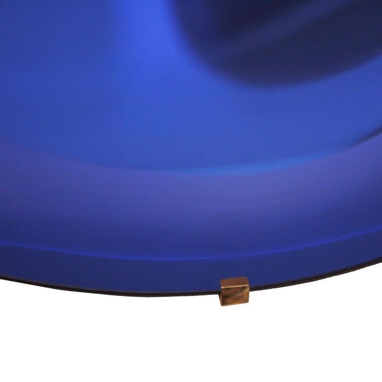 L.A. Studio Contemporary Modern Sculptural Concave Glass Italian Mirror 3