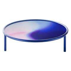 L.A. Sunset Midnight Blue Large Low Table, by Patricia Urquiola, Glas Italia