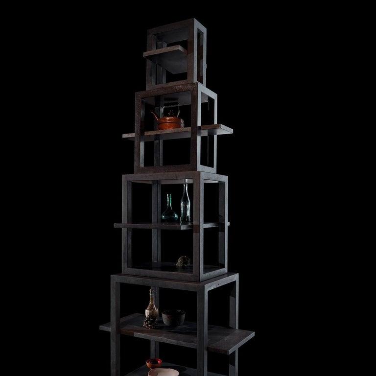 La Torre dei Trampolini Bookshelf by Michele De Lucchi In New Condition For Sale In Milan, IT