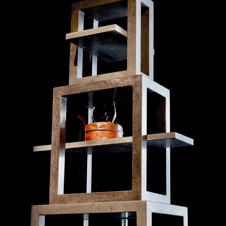 Contemporary La Torre dei Trampolini Bookshelf by Michele De Lucchi For Sale