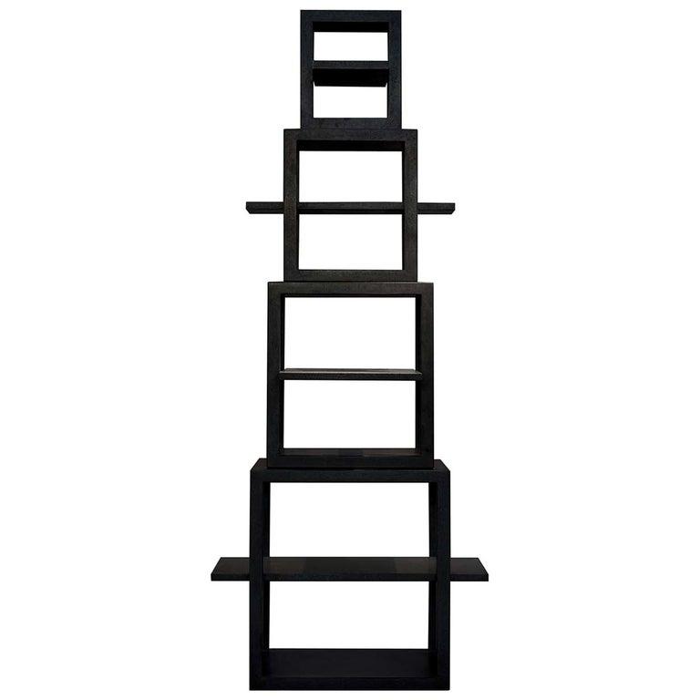 La Torre dei Trampolini Bookshelf by Michele De Lucchi For Sale