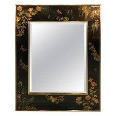 Labarge Hand Painted Églomisé Mirror