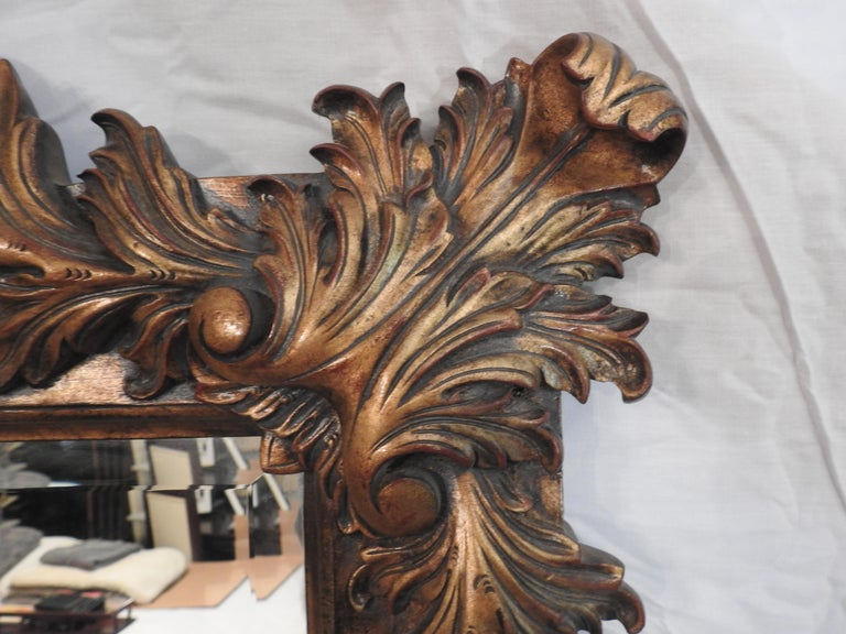 Labarge Rococo Style Mirror, 20th Century In Good Condition For Sale In Cookeville, TN