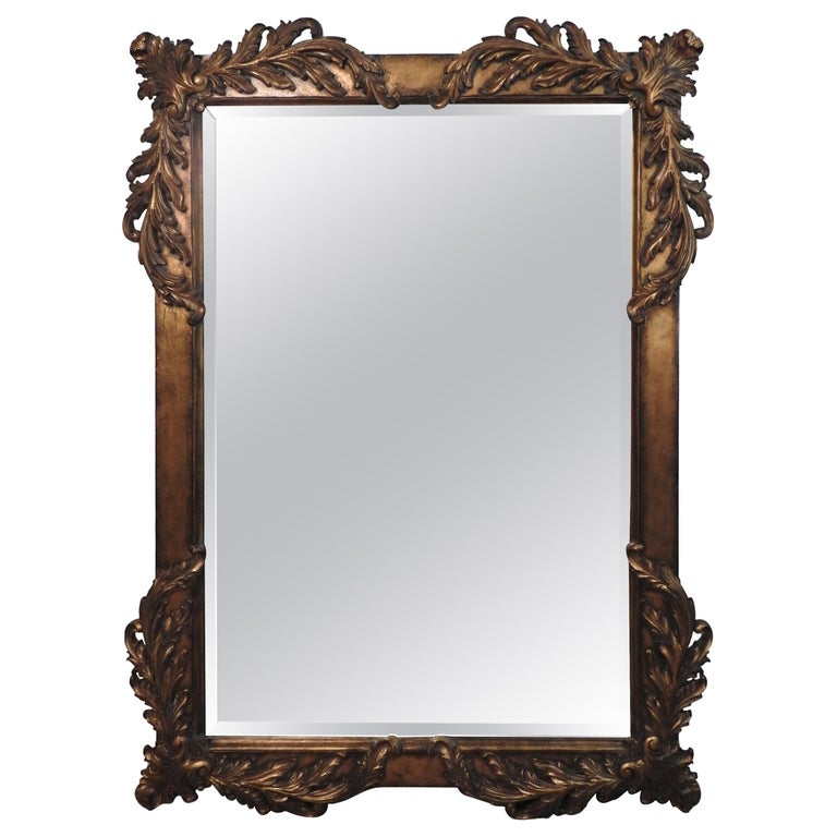 Labarge Rococo Style Mirror, 20th Century For Sale