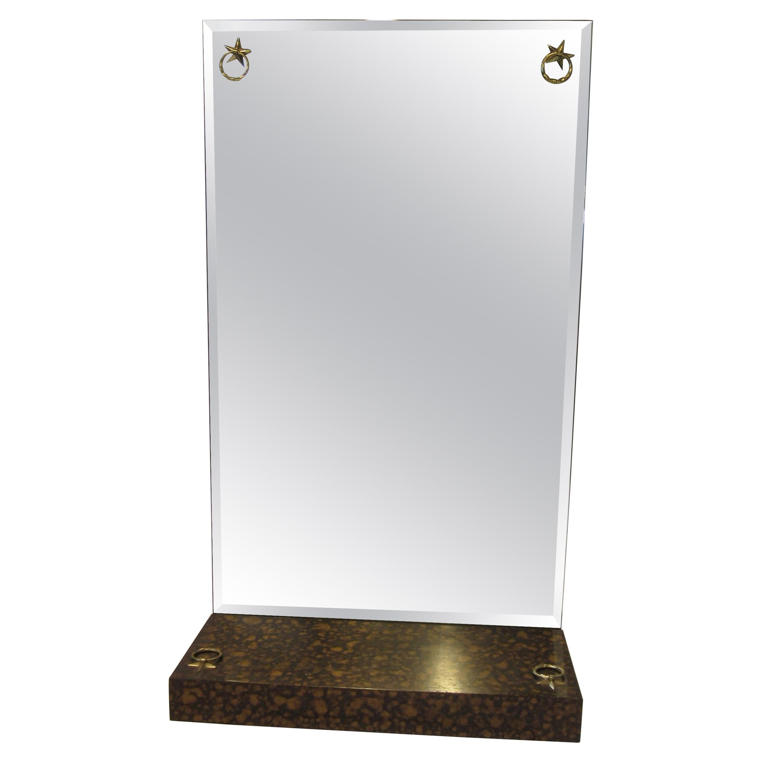 Labarge Tortoise Shell Entrance Wall Mirror