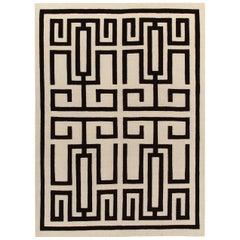 Labirinto Black Carpet by Gio Ponti