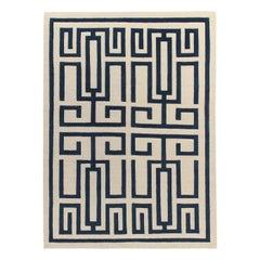 Labirinto Blue Carpet by Gio Ponti