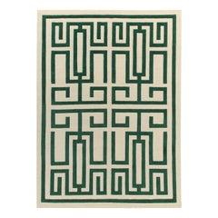 Labirinto Green Carpet by Gio Ponti