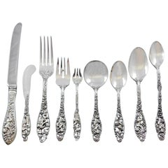 Labors of Cupid by Dominick and Haff Sterling Silver Flatware Set Service 112 Pc