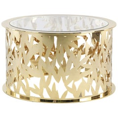 Lace Central Table with Metal Base by Roberto Cavalli Home Interiors
