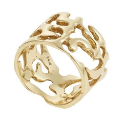 Lace Ring in Gold
