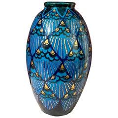 Lachenal Unique Ceramic Art Deco Museum Quality French Pottery