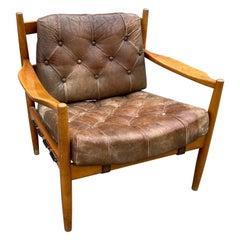"""""""Läckö"""" Easy Chair by Ingemar Thillmark, 1960s"""