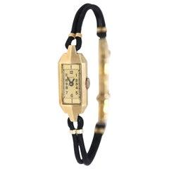 Laco 14 Karat Gold Ladies German Watch, 1940