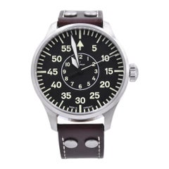 Laco Aachen Type-B Stainless Steel German Watch