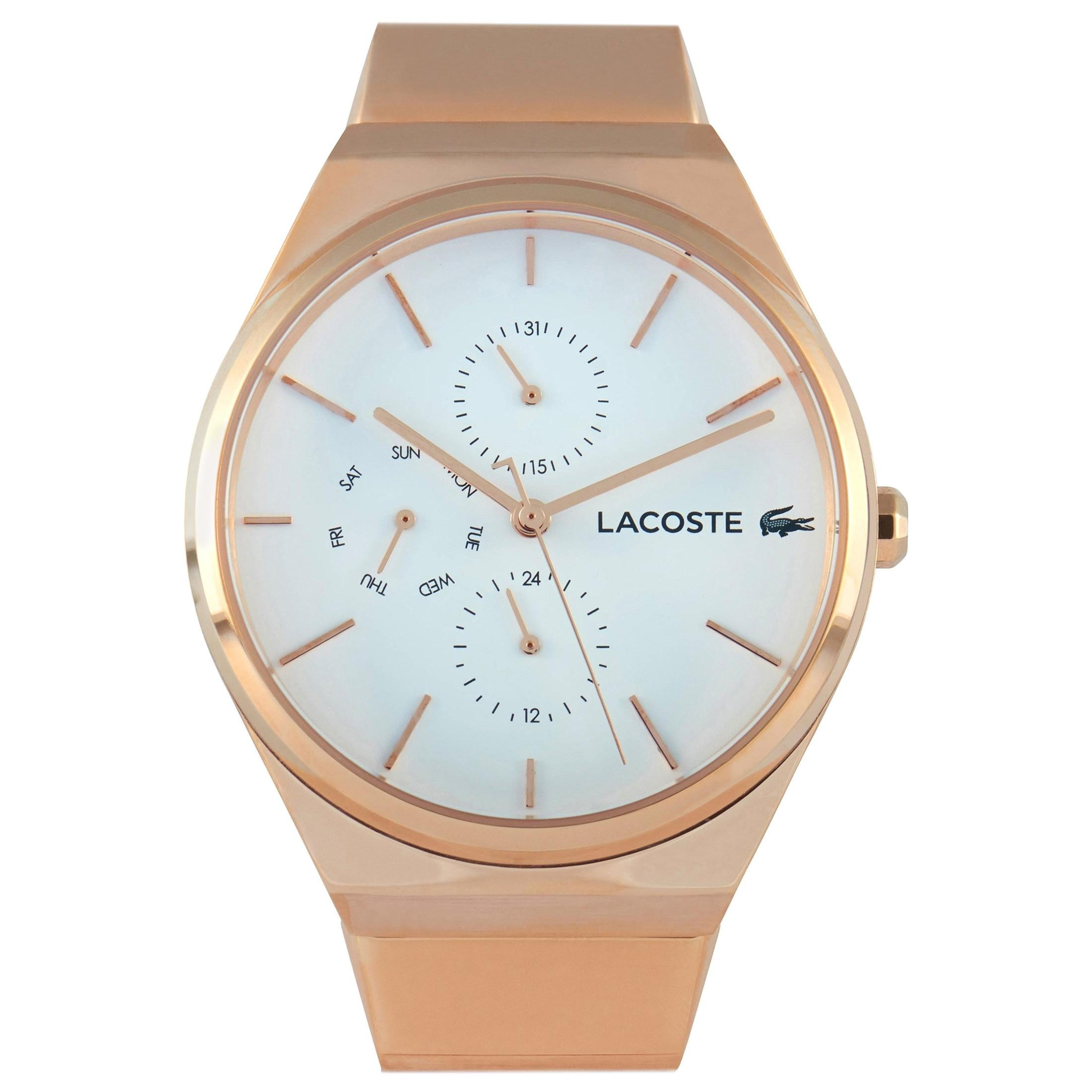Lacoste Bali Rose Gold-Tone Stainless Steel Watch 2001036