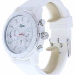 Lacoste Charlotte 2000800 With 8.0 in. Band & White Dial