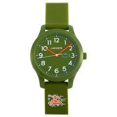 Lacoste Children's Keith Haring Foundation Khaki Silicone Watch 2030015