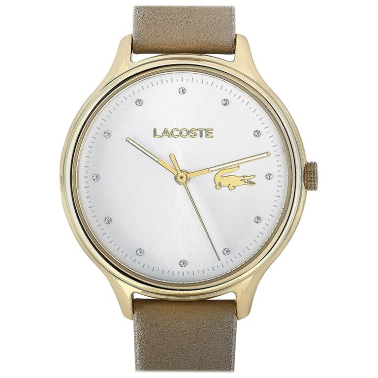 Lacoste Constance Gold-Tone Stainless Steel Watch 2001007 For Sale