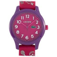 Lacoste Lacoste 12.12 Purple Stainless Steel Watch 2030012